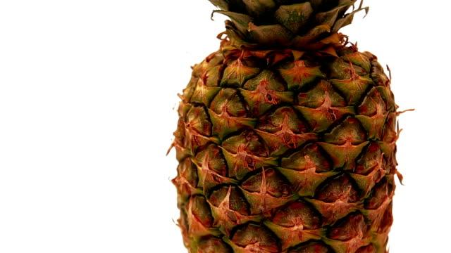 Fresh pineapple video