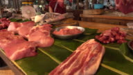 Fresh pork market video