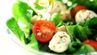 fresh salad video