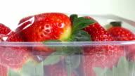 Fresh Strawberries video