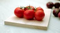 Fresh tomatoes video