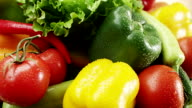 Fresh vegetable mix video
