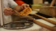 Freshly Baked Turkish Pizza, Lahmacun video
