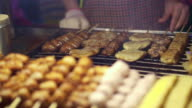 fried and grilled stinky tofu Famous fermented tofu of Taiwan video