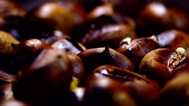 Fried Chestnut - Stock Video video