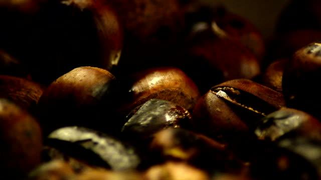 Fried Chestnut - StockVideo video