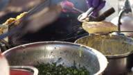 Fried Crispy Chinese Vegetable and pork bun Buns Recipe video