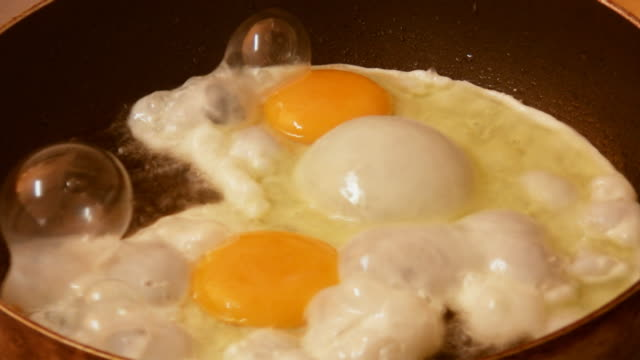 Fried Eggs On Pan (HD) video