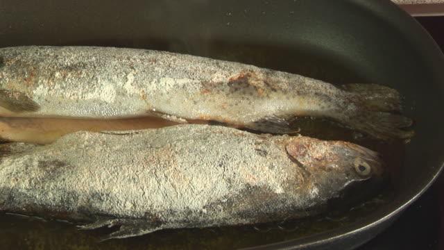 fried fish start close video