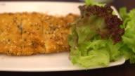 fried fish steak video