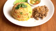 fried rice with pork video