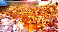 HD: Fried Squid On Street Food In China video