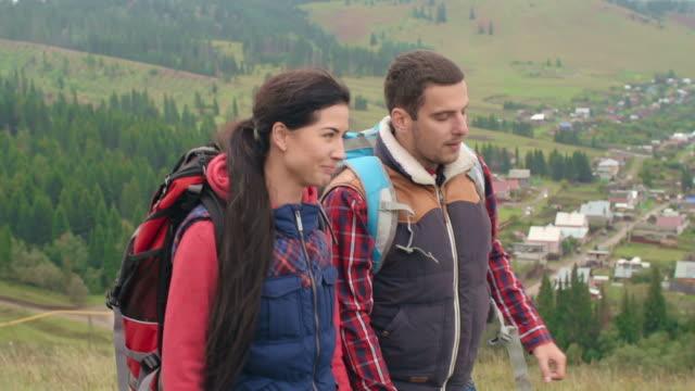 Friendly Hikers video