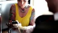 Friendly Tattoo Artist video