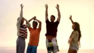 Friends Beach Dance video