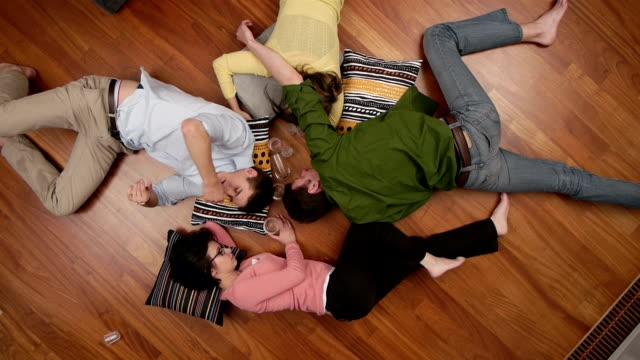 friends feeling sick video