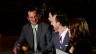 Friends having fun in a bar video