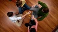 friends heavy drinking video
