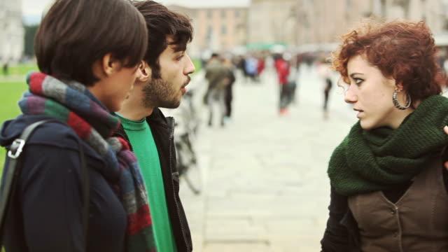 Friends in Piazza dei Miracoli, Pisa, Italy video