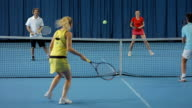 LS Friends Playing Mixed Doubles video