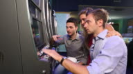 HD: Friends Playing with Slot Machines video