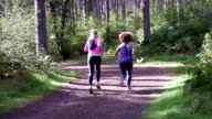 Friends Running Together video