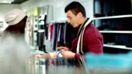 Friends shopping video