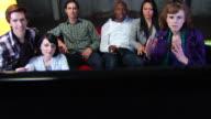 Friends Watch TV and Celebrate - Jib Up video