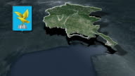 Friuli-Venezia Giulia is a region in Northern Italy whit Coat of arms video