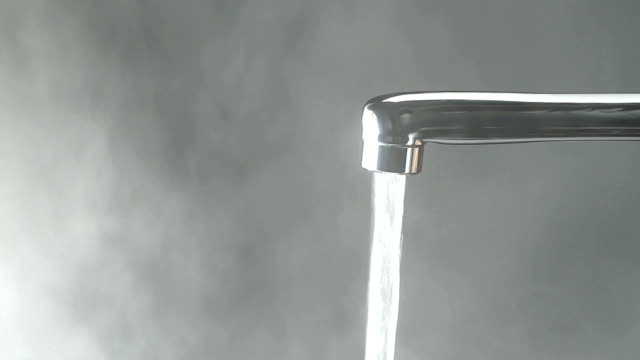 From a faucet to warm water video