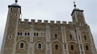 Front view of the St. Thomas tower in London video