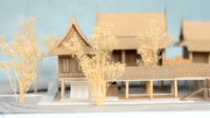 front view thai house style model video