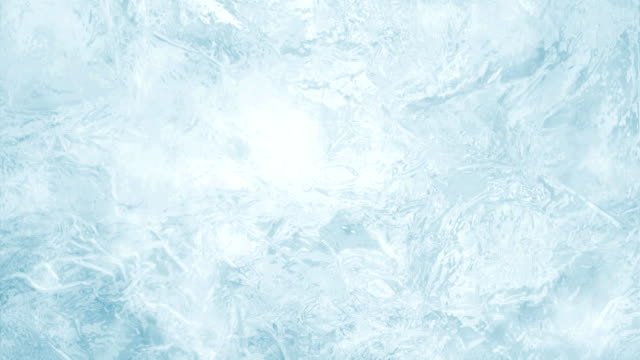 frozen ice texture video