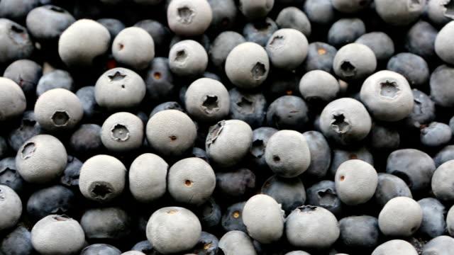Frozen Organic Fruit Blueberries video