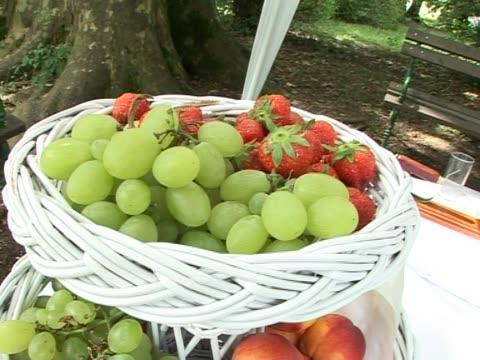 Fruit in a basket video