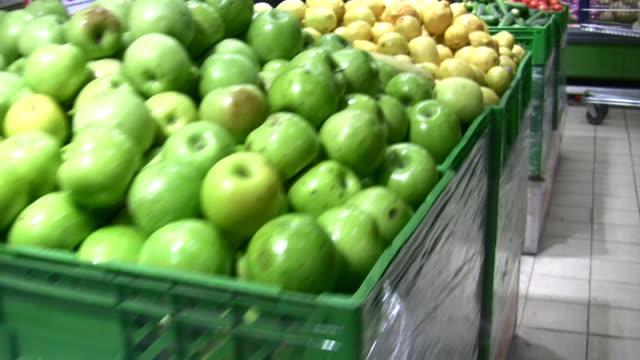 Fruit in shop video