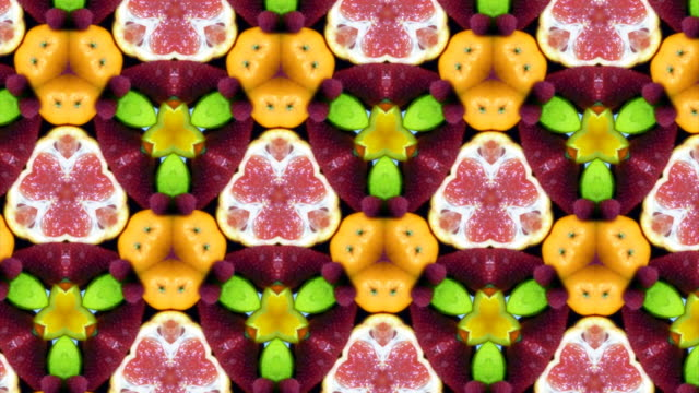 Fruit Kaleidoscope video