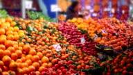 Fruit market video