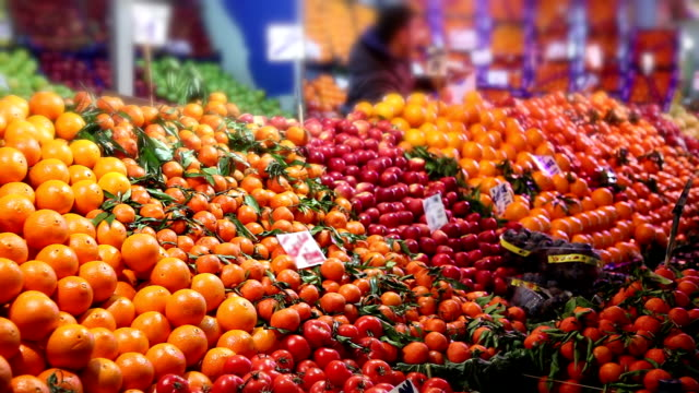 Fruit market video