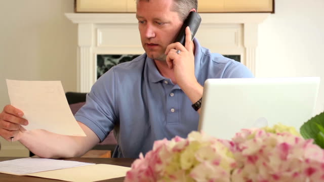 Frustrated Man Argues with Large Company over the Phone video