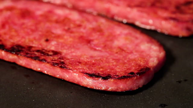 Frying Spam video