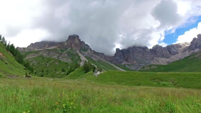 Fuciade valley - Passo San Pellegrino - Dolomites - Italy video