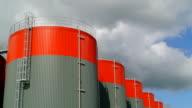 Fuel storage tank time lapse video