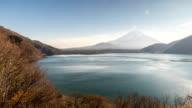 HD: Fujisan Landscape at Motosu lake video