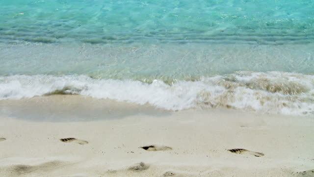 Full HD - Seamlessly Loopable Waves On The Beach video