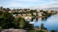 Full HD Waverton Lookout Sydney Harbour Time Lapse video