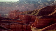 FullHD TimeLapse. Charyn grand canyon, camera close up video