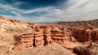 FullHD TimeLapse. Charyn grand canyon video