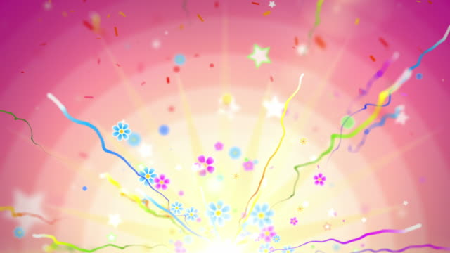 Fun Celebration Background - Party Tropical (Full HD) video