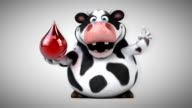 Fun cow - 3D Animation video